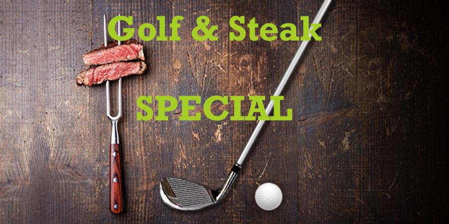 39. Golf & Steak